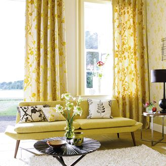 Picture of Light Decorated Curtains