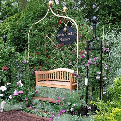 Picture of Classic Garden Element Bench