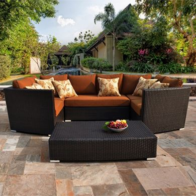 Picture of Contemporary Patio Furniture