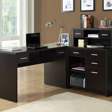 Picture of L-Shaped Home Desk