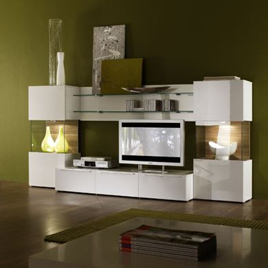 Picture of White Modern Cabinet
